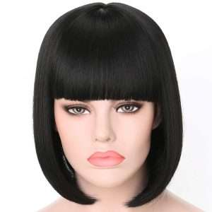 Amazon - DIY Halloween Costume Ideas - Black Bob Wigs