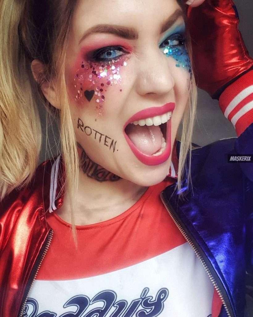 maskerix – Carneval Photo Contest 2019 – DIY Harley Quinn Costume Idea1