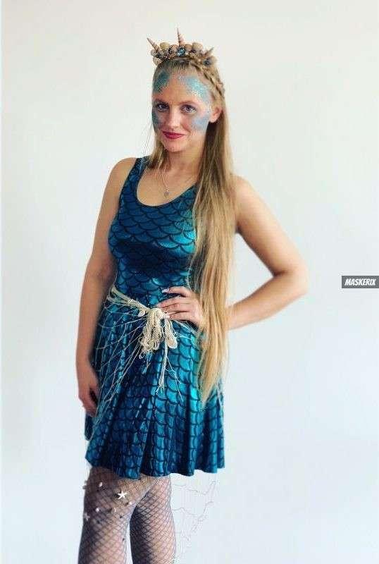maskerix – Carneval Photo Contest 2019 – DIY Mermaid Costume Idea