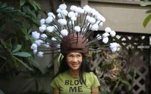Youtube - DIY Dandelion Halloween Costume Ideas