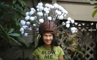 DIY Dandelion Halloween Costume Idea