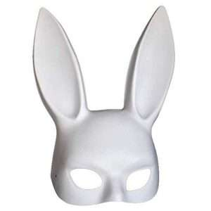 Amazon - DIY Halloween Costume Ideas - White Bunny Masks