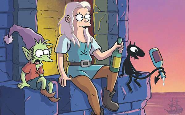 DIY Disenchantment Princess Bean Costume Idea