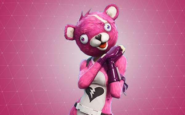 DIY Fortnite Cuddle Team Leader Halloween Costume Idea