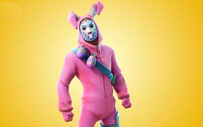 DIY Fortnite Rabbit Raider Costume