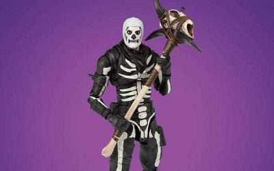 DIY Fortnite Skull Trooper Costume