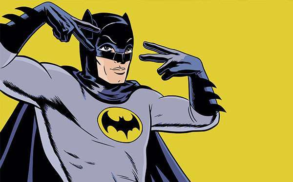 DIY Vintage Batman Costume