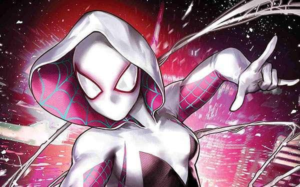DIY Spider Gwen Costume
