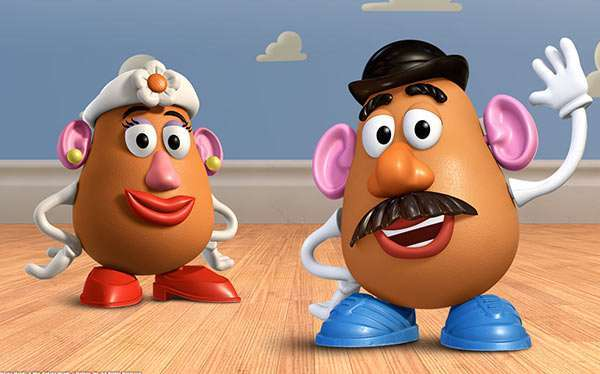 Mr and Mrs Potato Head Costume