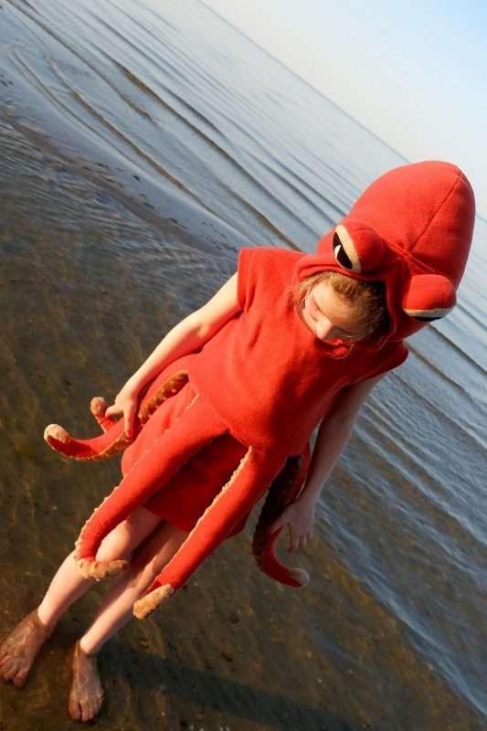 Etsy - Handmade Octopus Costume