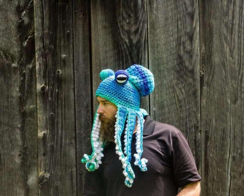 Etsy - Handmade Octopus Hats