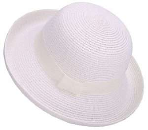 Amazon - White Summer Hat Ladies