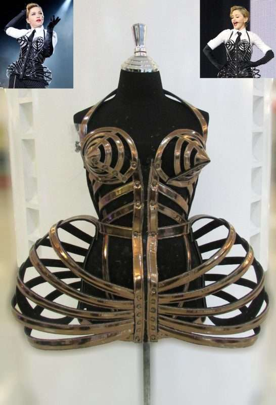 Etsy - Madonna Outfits Corset Cage