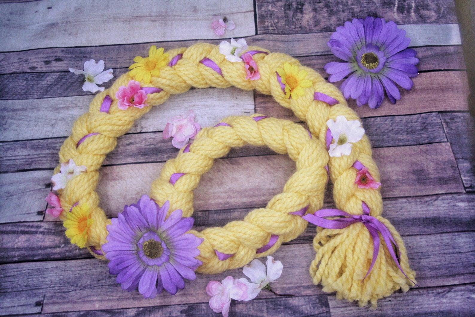 Etsy - Handmade Rapunzel Braid
