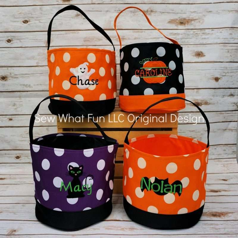 Etsy - Personalized Trick or Treat Bags