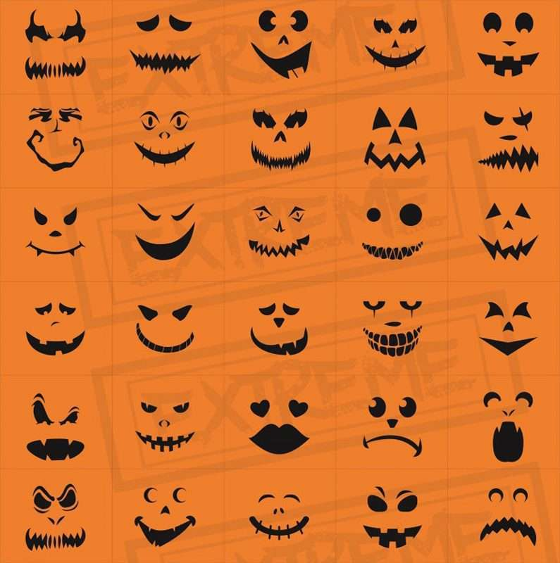 Etsy - Pumpkin Carving Pattern