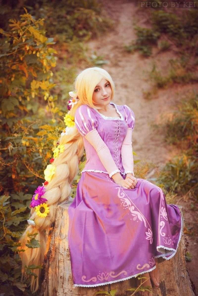 Etsy - Rapunzel Costume Adult