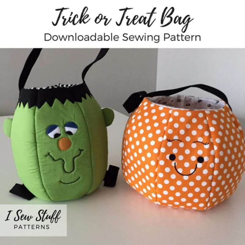 Etsy - Trick or Treat Bag Sewing Pattern