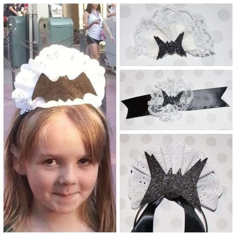 Etsy - Haunted Mansion Maid Bat Headband