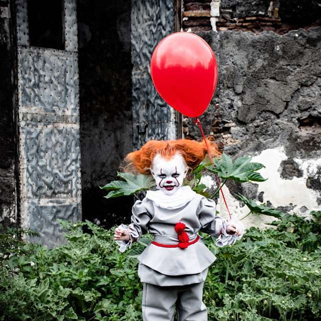 Maskerix - Pennywise 2017 Toddler Costume