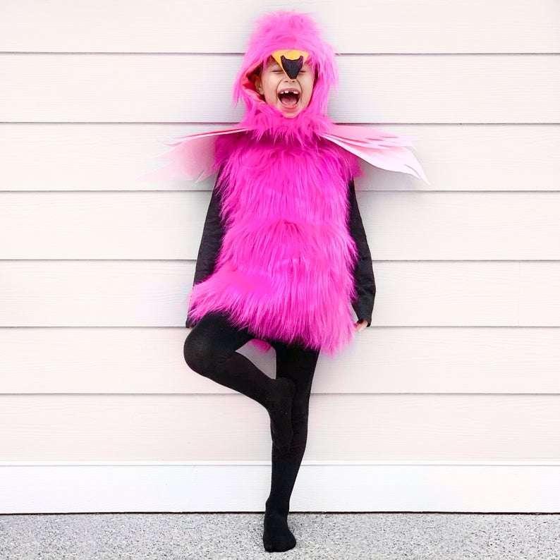 Etsy Flamingo Costume