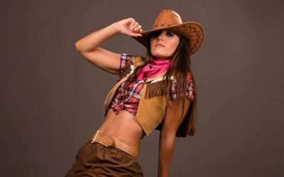 DIY Cowgirl Costume
