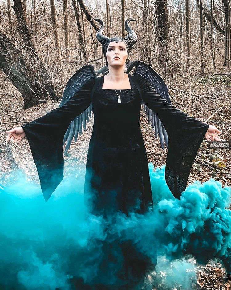 maskerix – Carnival Photo Contest 2020 – DIY Maleficent Costume