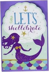 amazon - Mermaid Invitation Card