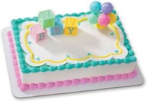 Baby Shower Cake Decoration