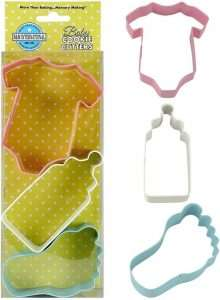 Baby Shower Cookie Cutters