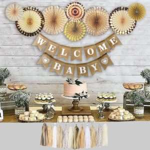 Baby Shower Decoration Neutral