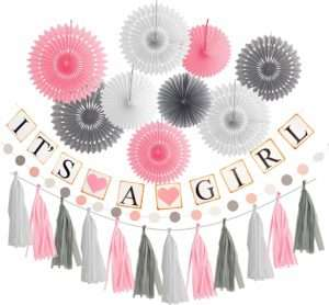 Amazon – Baby Shower Decoration Girl
