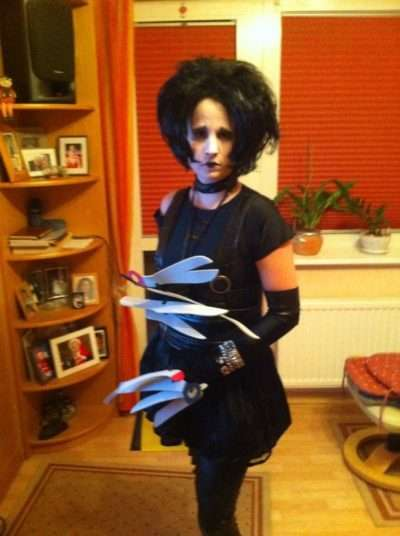 maskerix - Photo Contest 2021 - Edward with the scissor hands